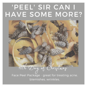 10th day of christmas face peel indulgence beauty