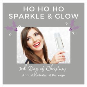3rd day of christmas hydrafacial Indulgence Beauty Daventry