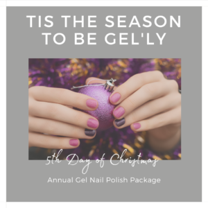 5th day of christmas nail gel annual package indulgence beauty daventry