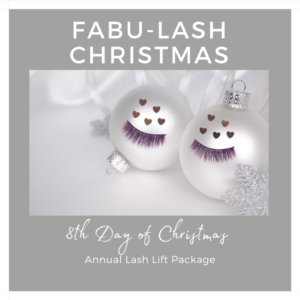 lash lift and tint annual package indulgence beauty daventry