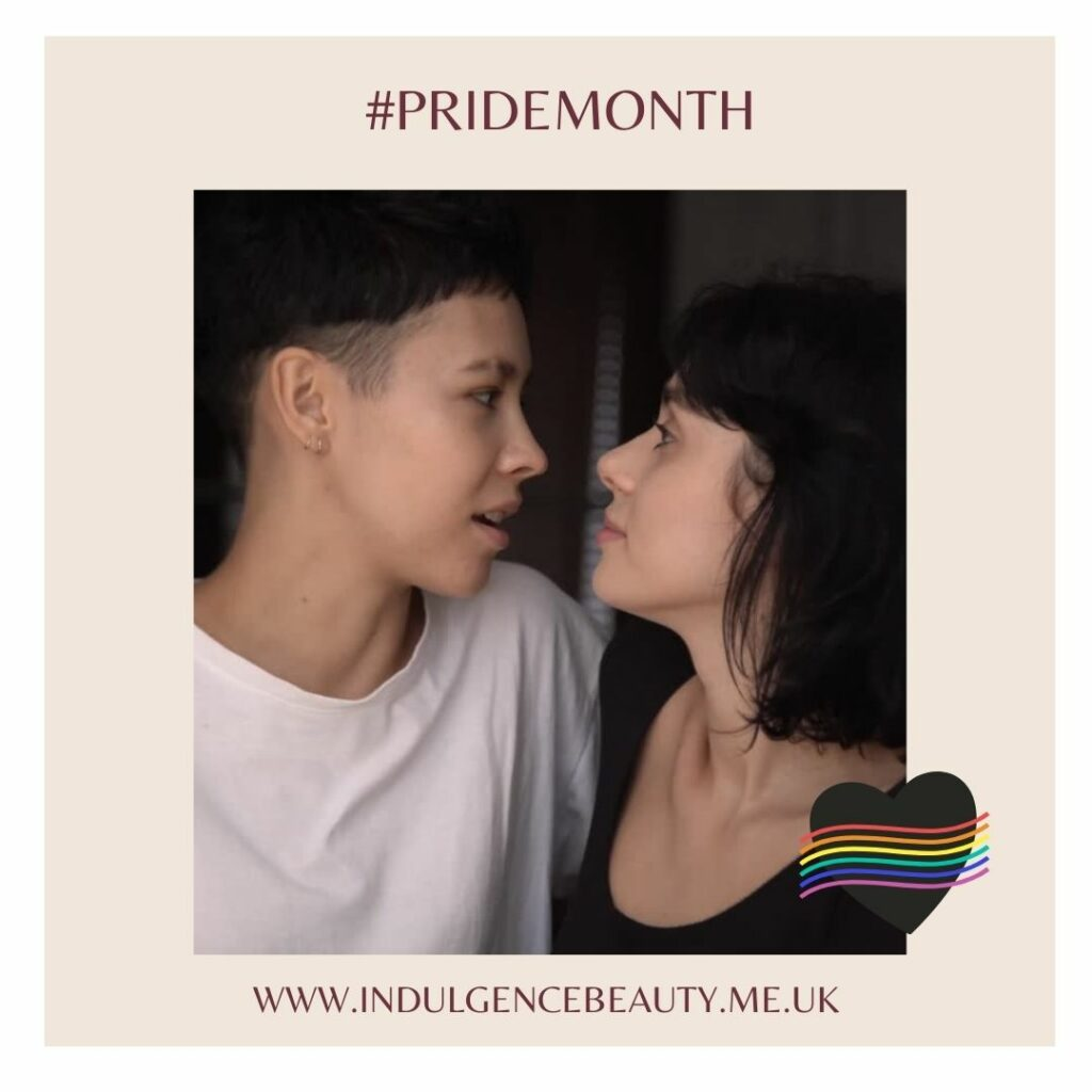 Indulgence Daventry, Northamptonshire, Towcester, Buckinghamshire, Rugby, Leicestershire, shout out to Pride month
